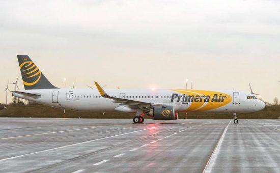 מטוס של חברת פרימרה