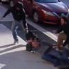 צפו: לאור יום ברחוב ראשי, עוברי אורח הבריחו את השודדים
