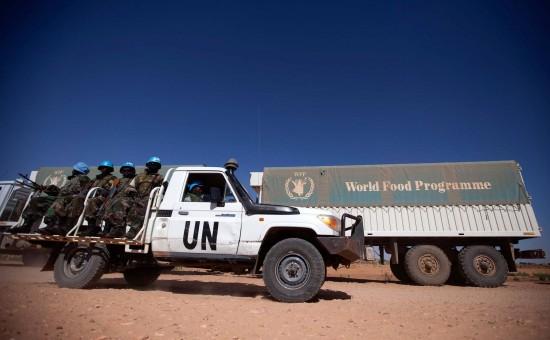 "חיילי האו""ם. צילום: Albert Gonzalez Farran"