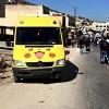 מצלמת האבטחה תיעדה: מדובר בתאונה ולא בפיגוע