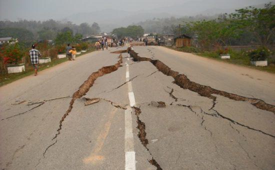 רעידת אדמה (אילוסטרציה)