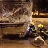 13 פצועים בתאונת דרכים קשה בין רכב לאוטובוס