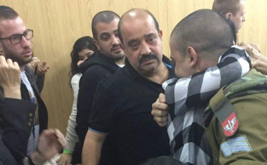 אלאור אזריה בבית הדין הבוקר (צילום: דור מימון)