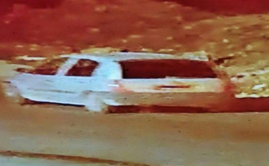 הרכב ממנו נזרקו בקבוקי התבערה