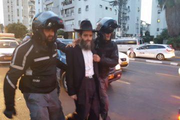 צפו: מעצר אלים בבית שמש בעקבות תקיפת חייל חרדי