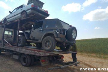 בדקו את רכב השטח שלכם • שלושה כבר נתפסו כשאינם תקינים