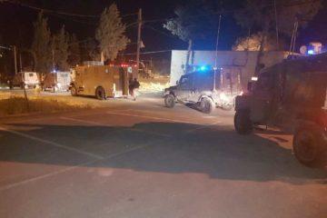 צפו: מעצר פלסטינים המואשמים ביידוי אבנים