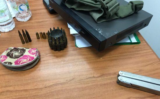 חלק מהנשק שנתפס, צילום: דוברות המשטרה