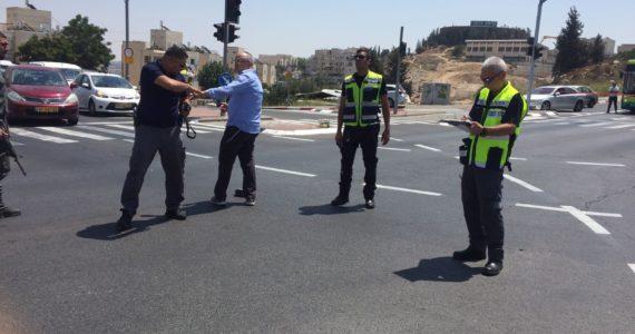 פגע וברח: נעצר הנהג שפגע היום בנער בן ה-13 סמוך לצומת גולדה מאיר