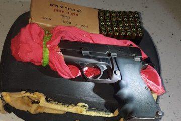 עבר: החוק שיצמצם גניבות נשק