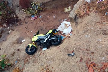 קסדת השוטר תיעדה, הנהג נמלט והאופנוע נתפס