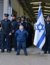 בית שמש: קצין משטרה בגן הילדים