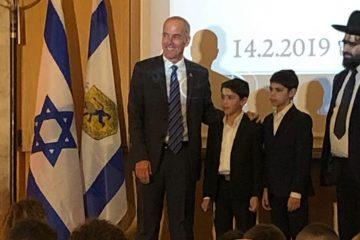 """'כאייל תערוג' נבחרו להיפרד ממנכ""""ל עיריית ירושלים"""