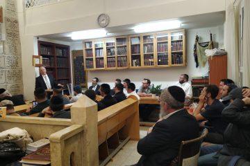 הרב נויגרשל ביקר את בוגרי 'נצח יהודה'