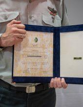 ציון לשבח מראש אגף המודיעין ליחידה 504