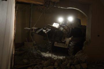 נהרס בית המחבל שרצח את אורי אנסבכר