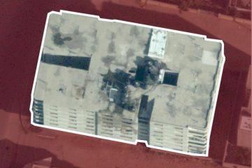 """תיעוד: צה""""ל 'פירק' את הבניין שהסתיר מנהרות"""