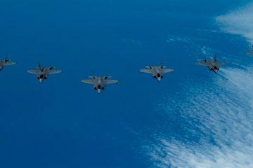ה״אדיר״ F-35 – לראשונה בתרגיל בינלאומי