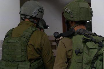"""כוחות צה""""ל פעלו לקראת הריסת בתי המחבלים"""