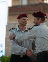 מפקד חדש לאוגדת אזור יהודה ושומרון