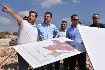 """""""בראש העדיפויות, אזור תעשייה חדש בשומרון"""""""