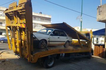 בן 13 נתפס נוהג על רכב 'פסול'