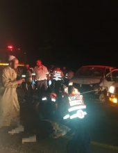 בין הזמנים: 12 פצועים בתאונה קשה
