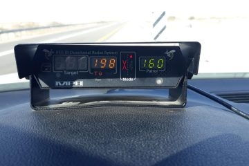 """המשטרה עצרה נהג שנסע במהירות 198 קמ""""ש בכביש 90"""