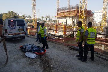 בני ברק: פועל זר נפל ונהרג באתר בנייה