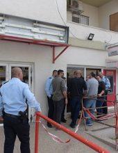 טמרה: שלושה פצועים בשוד בנק הדואר
