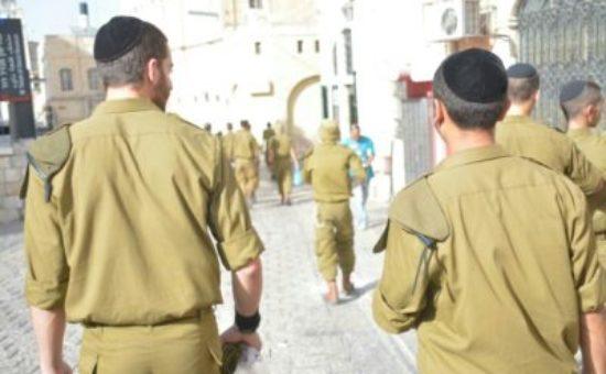 חיילים חרדים צילום: דוצ