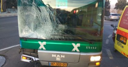 מחיר הדמים של כביש 'גולדה': הולך רגל נפצע באורח בינוני
