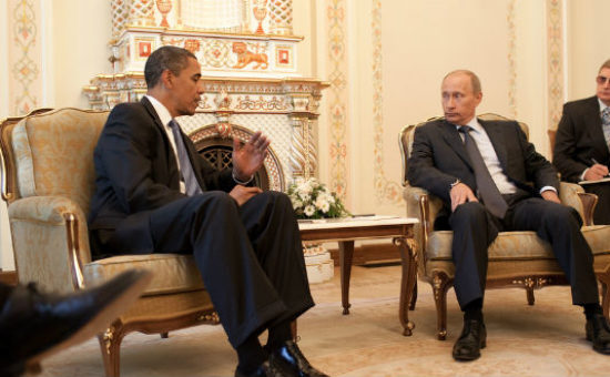 פוטין ואובמה (Photo: Pete Souza/ Official White House Photo)  )