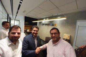 נשיא הונדורס נפגש עם אנשי עסקים חרדים