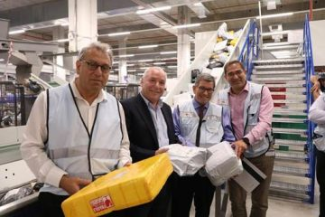 ביקור ראשון: שר התקשורת ביקר בדואר ישראל