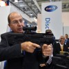 שר הביטחון יעלון בתערוכת הנשק באזרבייג'אן