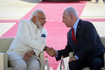 ראש ממשלת הודו, נפגש עם נשיא איראן