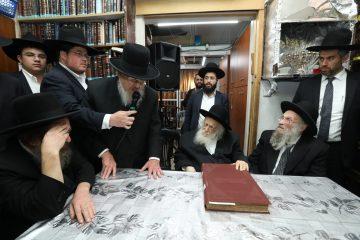 גדולי ישראל התכנסו: 'למען משה לאון'