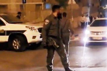 צפו: לוחמי משמר הגבול הגיעו לבית שמש בנסיון מעצר – ונמלטו