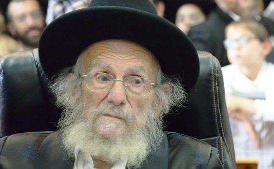 רבי יעקב אדלשטיין צילום בעריש פילמר