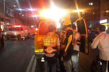 בני ברק: בן 30 נפצע קשה בתאונה על קורקינט