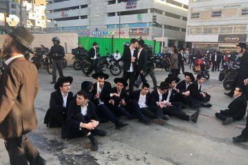 28 עצורים בהפגנות 'הפלג' בבני ברק