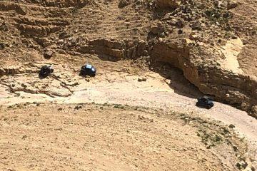 נחל צפית: שישה חולצו לאחר שנעלמו ברכבי שטח