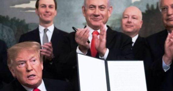 """רשמי: ארה""""ב מכירה 'הגולן של ישראל'"""