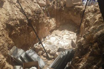 העצמות מהמערה המחוללת הובאו למנוחת עולמים