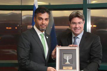הגיע לישראל: שגריר איחוד האמירויות