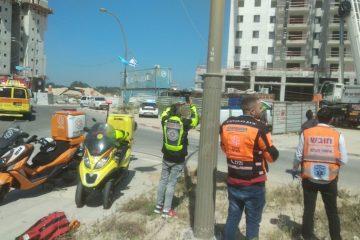 4 הרוגים בקריסת מנוף באתר בנייה ביבנה