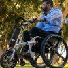 האופן החשמלי הראשון מסוגו בישראל המתחבר לכיסאות גלגלים
