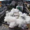 לראשונה בישראל: פוצץ בניין מגורים לצורך בנייה