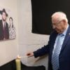 """הנשיא הדליק נר לזכר גבי ורבקי הולצברג הי""""ד"""